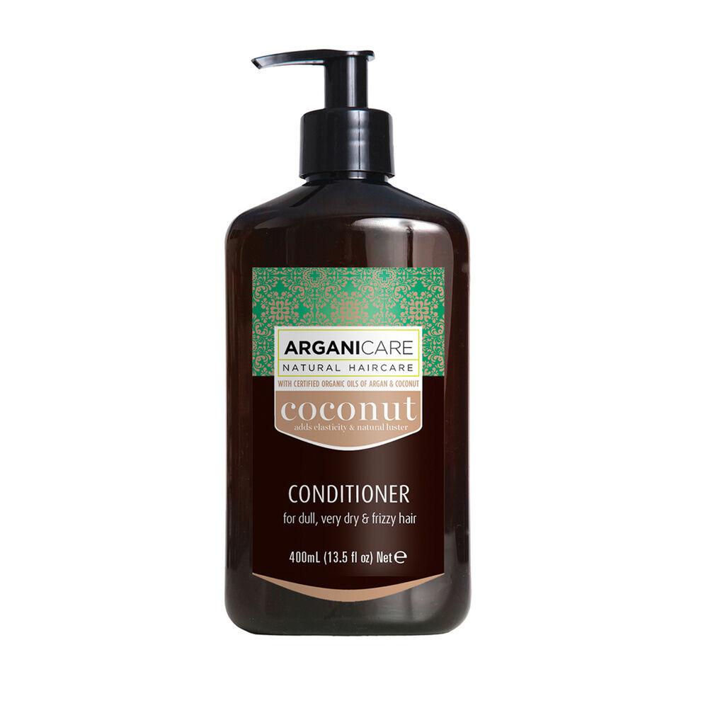 Arganicare Après shampooing  à l'huile de noix de coco ultra nourrissant Pour cheveux très secs , frisés, afros