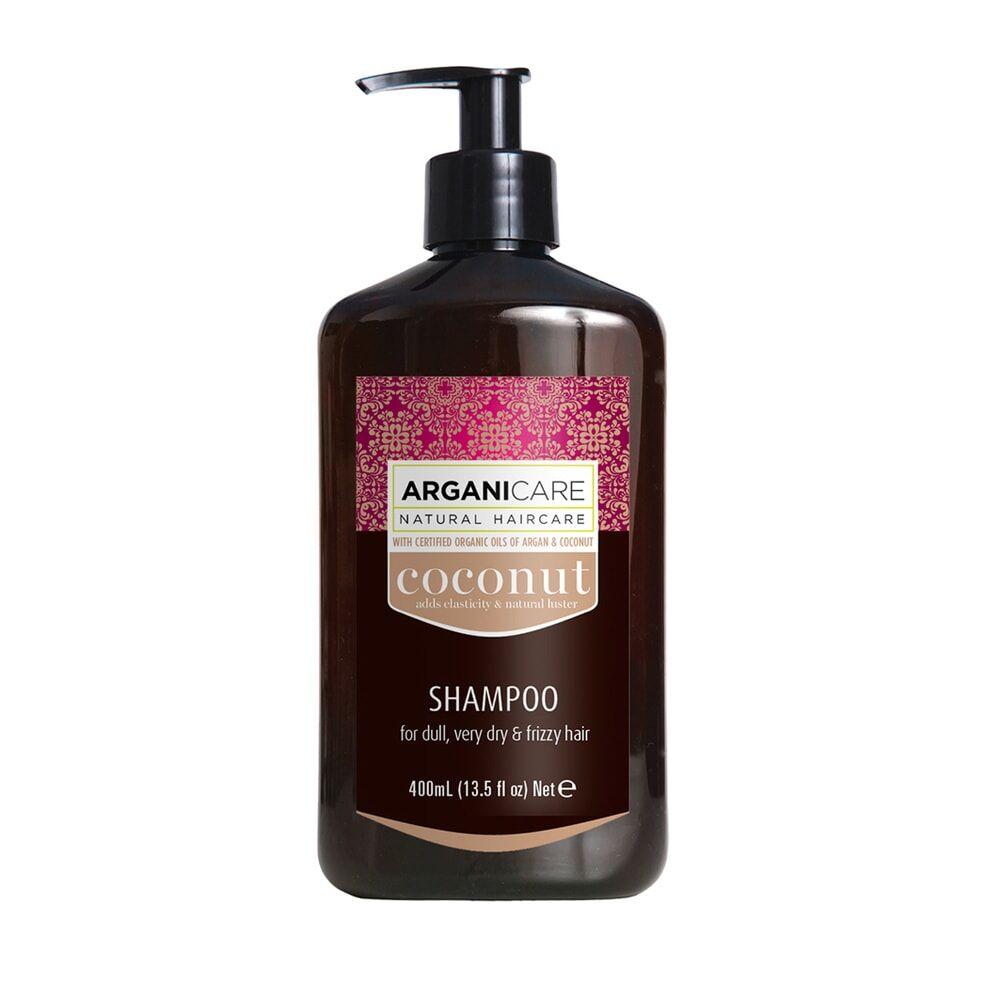 Arganicare Shampooing  à l'huile de noix de coco ultra nourrissant Pour cheveux très secs , frisés, afros