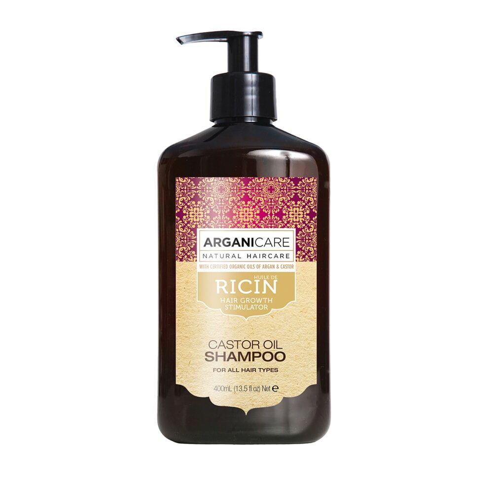 Arganicare Shampooing  à l'huile de ricin Accélérateur de croissance Pour tous types de cheveux