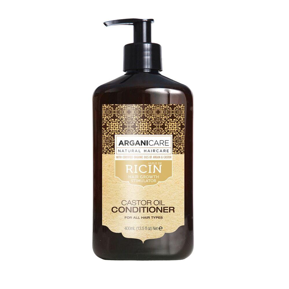 Arganicare Après shampooing à lhuile de ricin reconstructeur Pour tous types de cheveux