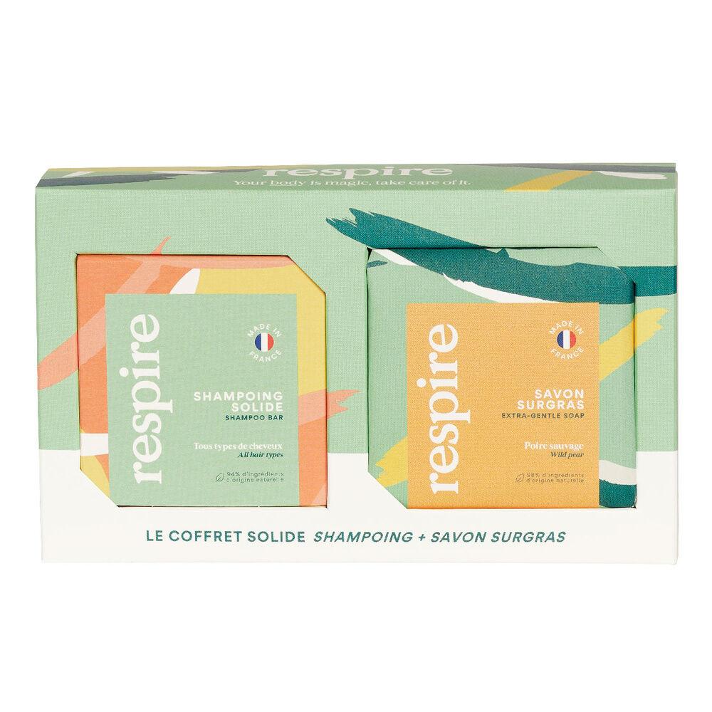 Respire Coffret solide (Shampooing + Savon) COFFRET SOLIDE