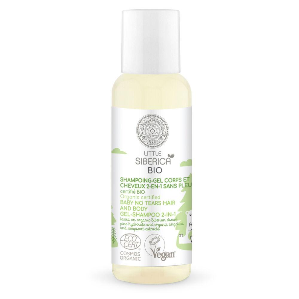 Natura Sibérica Gel douche - Shampoing Sans Pleurs Corps et Cheveux certifié Bio Gel Douche