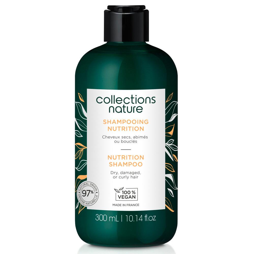 Collections Nature Shampooing Nutrition Idéal pour les cheveux secs, abimés, bouclés