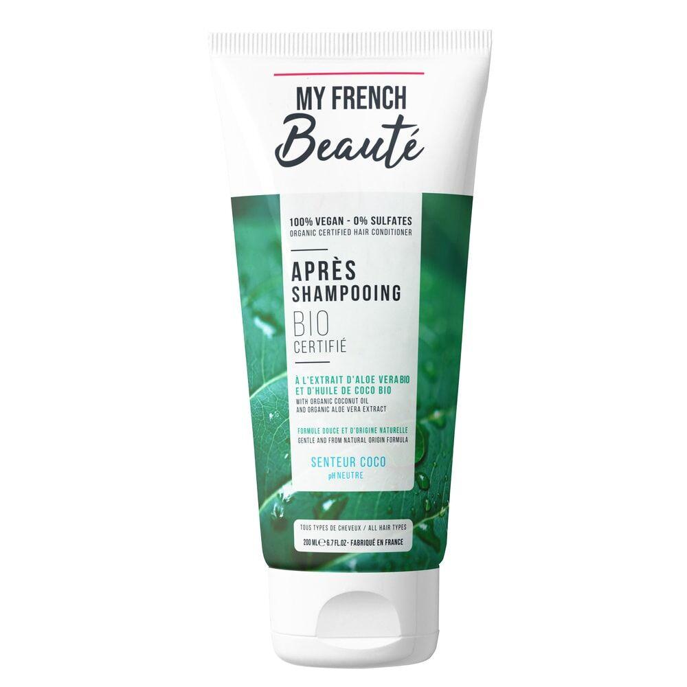 My French Beauté Après-shampooing Bio certifié parfum Coco Après-Shampooing Capillaire
