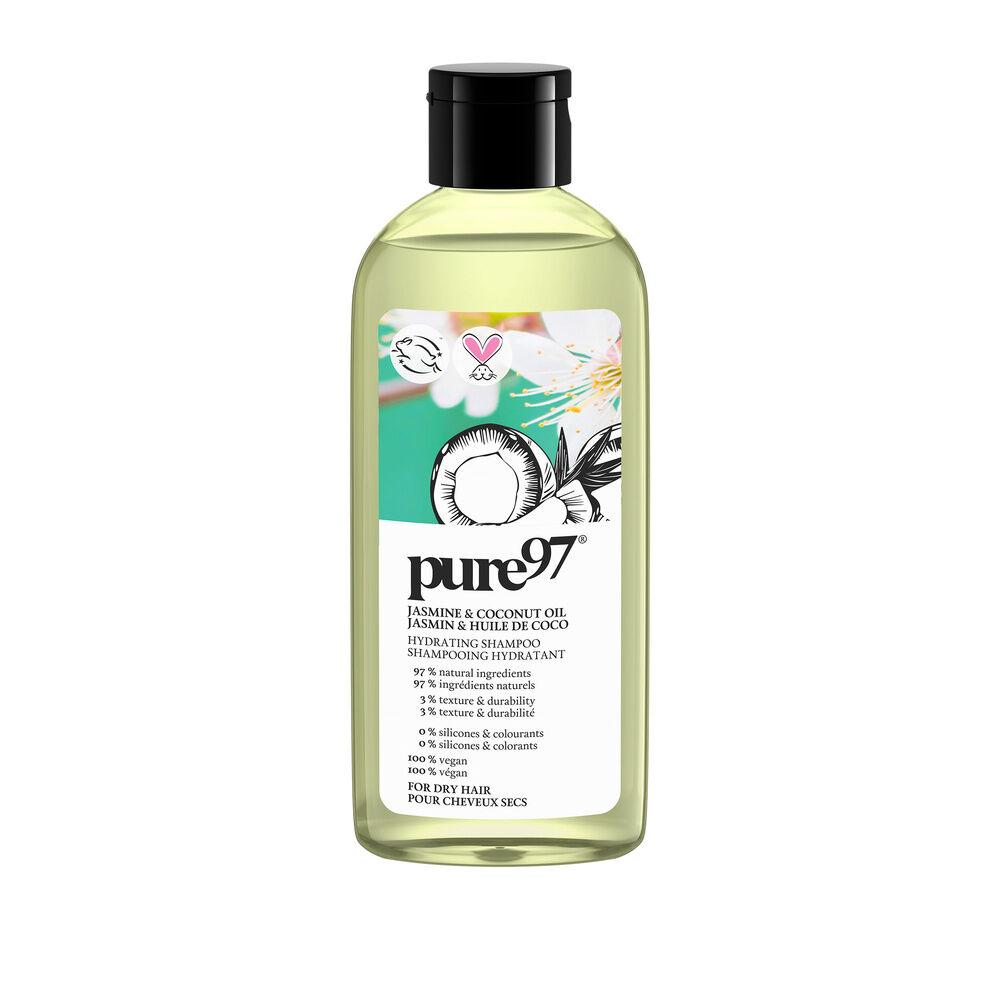 Pure Shampoing Jasmin et Huile de Coco Shampoing