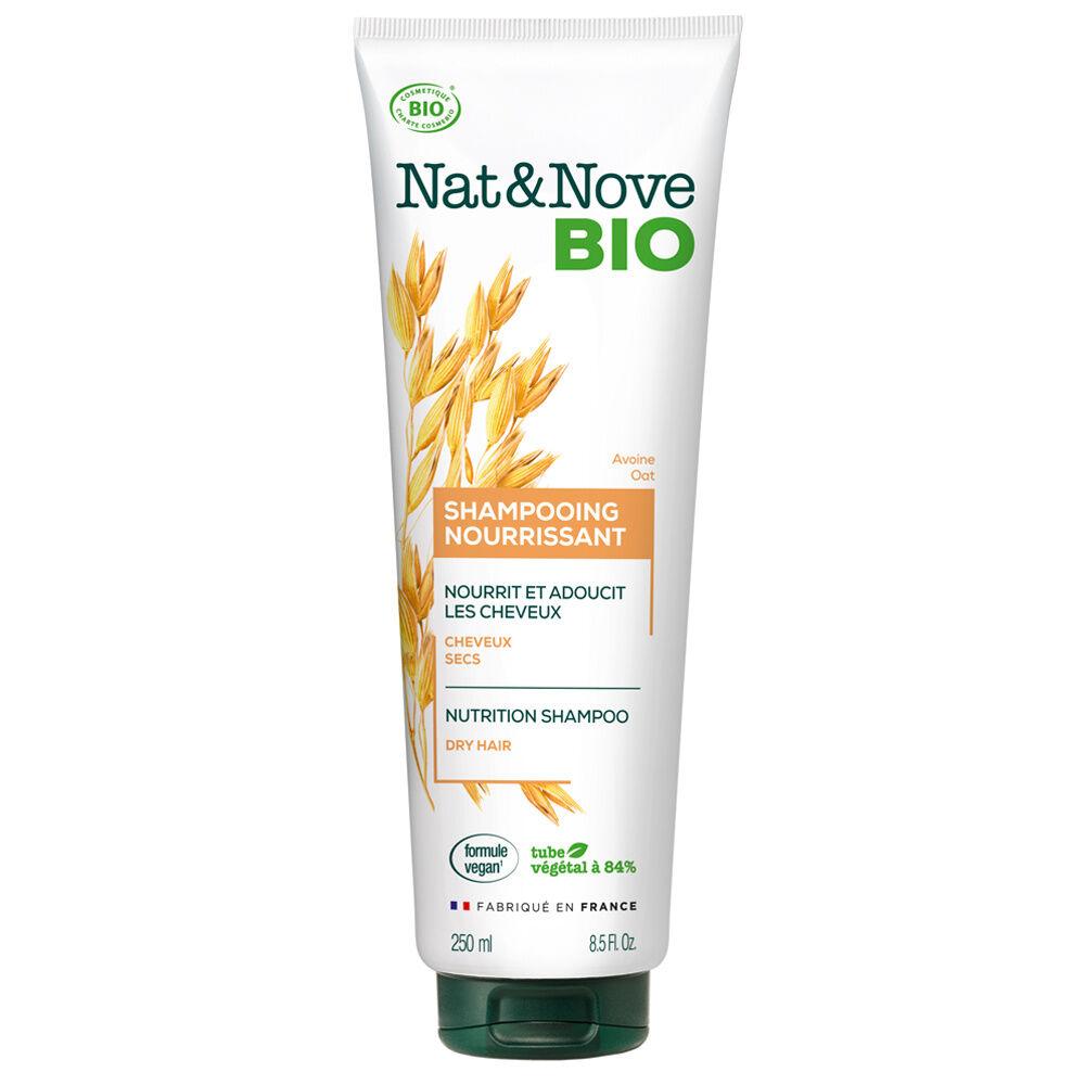Nat & Nove Shampooing Nourrissant certifié bio Shampooing certifié bio / Cheveux secs