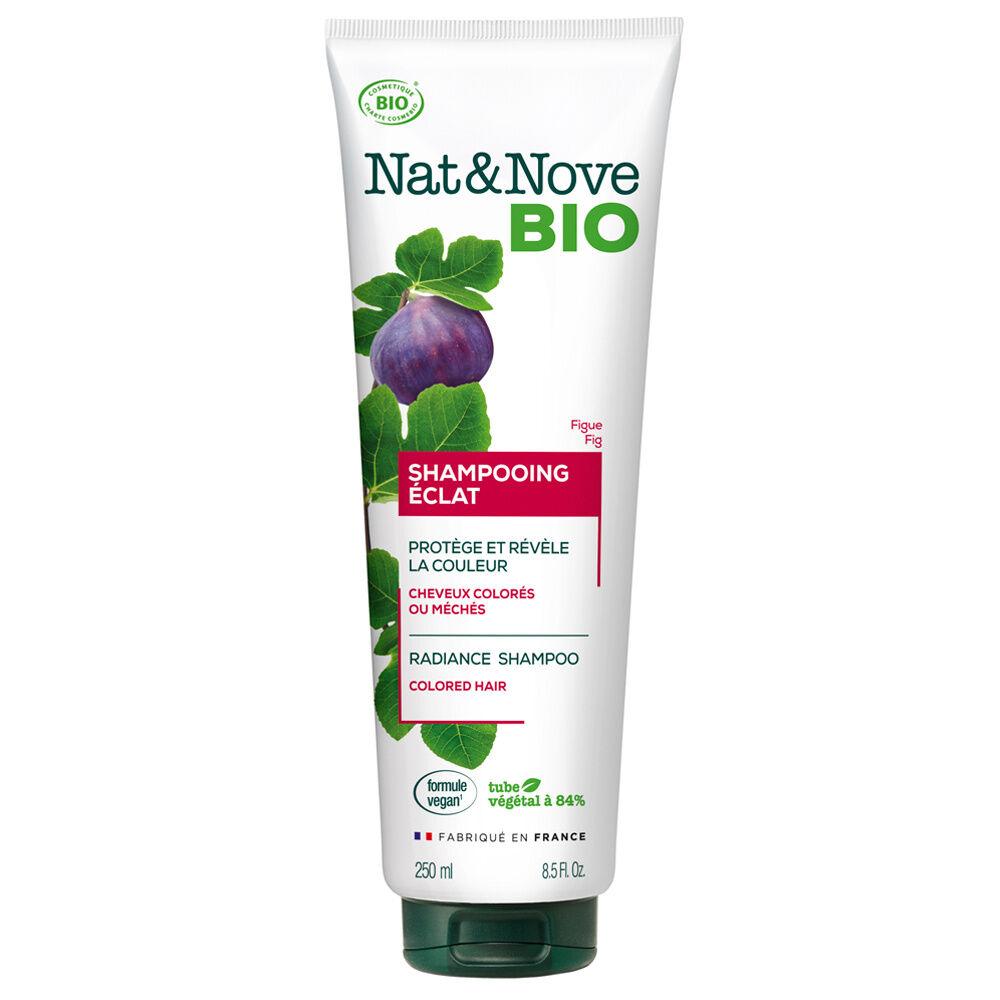 Nat & Nove Shampooing Eclat certifié bio Shampooing certifié bio / Cheveux colorés