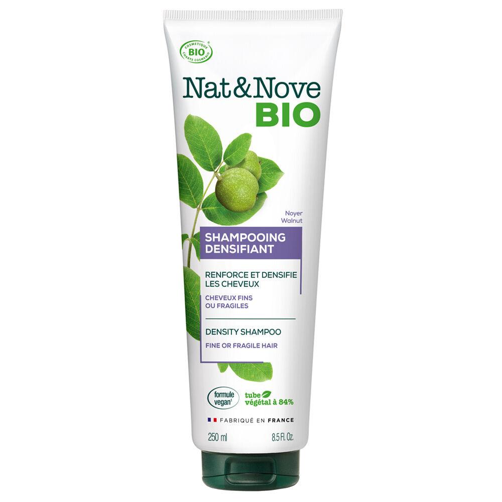 Nat & Nove Shampooing Densifiant certifié bio Shampooing certifié bio / Cheveux fins ou fragiles