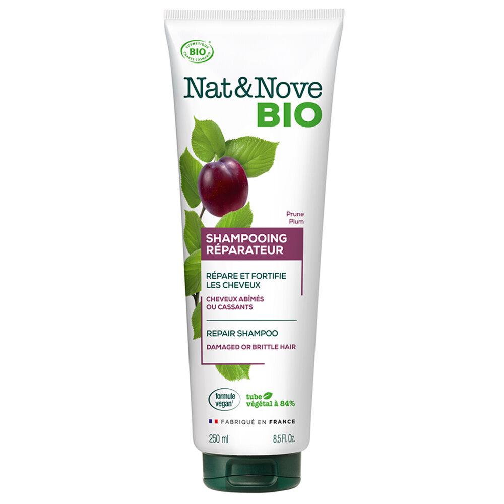Nat & Nove Shampooing Réparateur certifié bio Shampooing certifié bio / Cheveux abîmés ou cassants