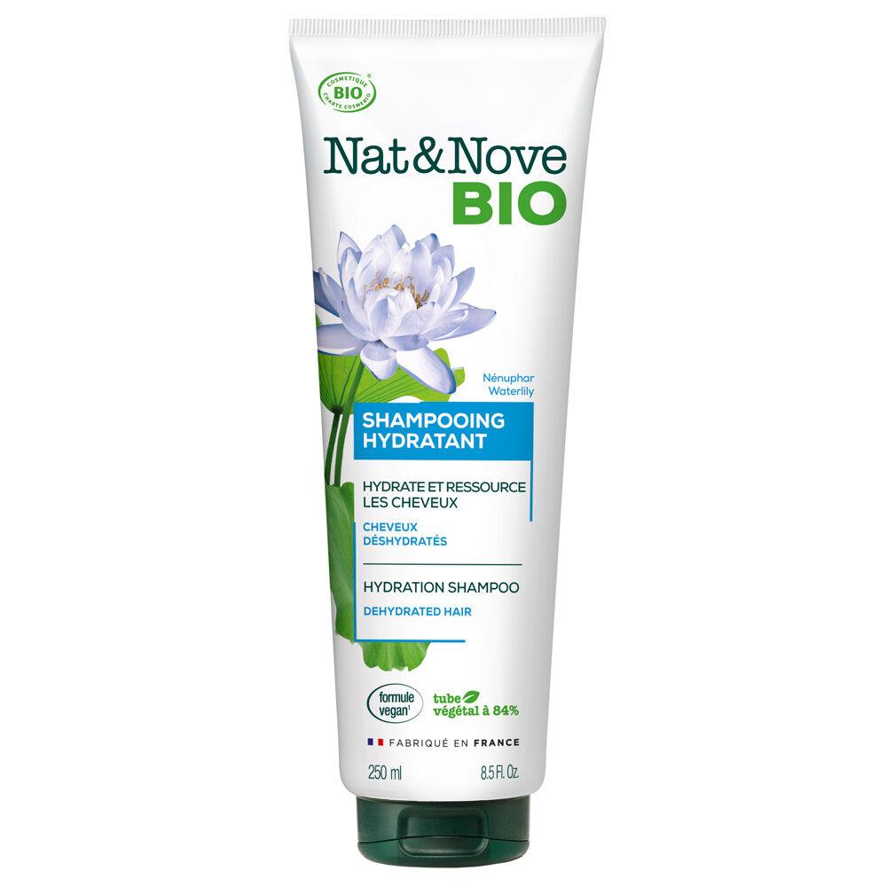 Nat & Nove Shampooing Hydratant certifié bio Shampooing certifié bio / Cheveux déshydratés