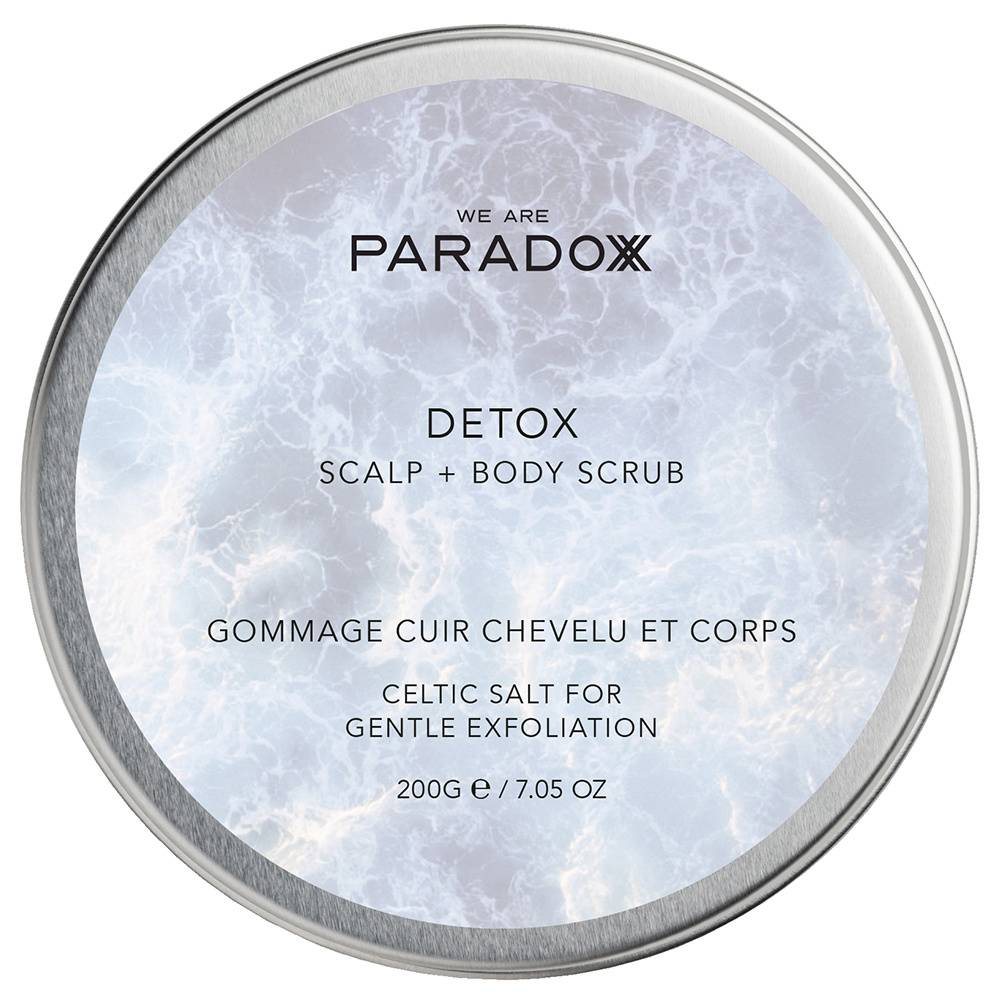 we are paradoxx Detox Collection DEXTOX GOMMAGE CUIR CHEVELU ET CORPS