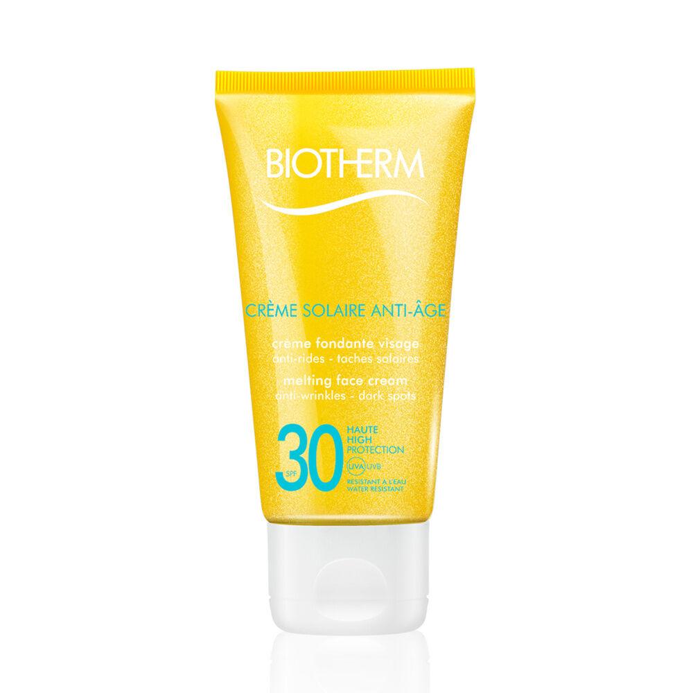 Biotherm Solaire Crème solaire visage ultra fondante, anti-rides, anti-tâches solaires - SPF30