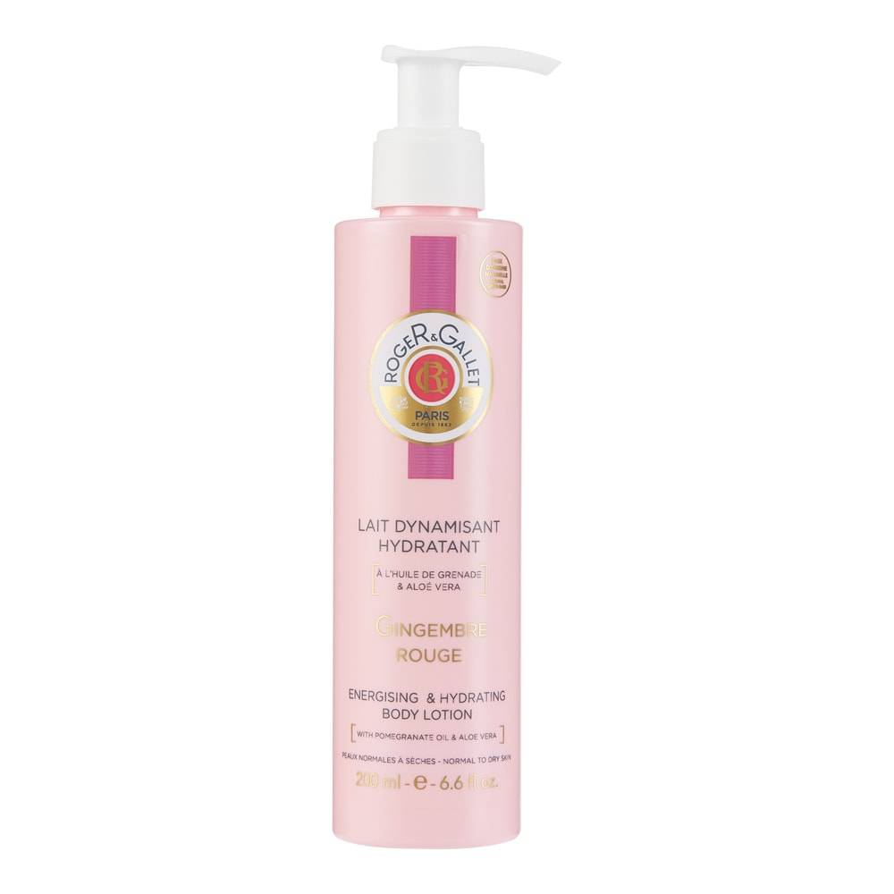 Roger & Gallet Gingembre Rouge Lait Dynamisant Hydratant
