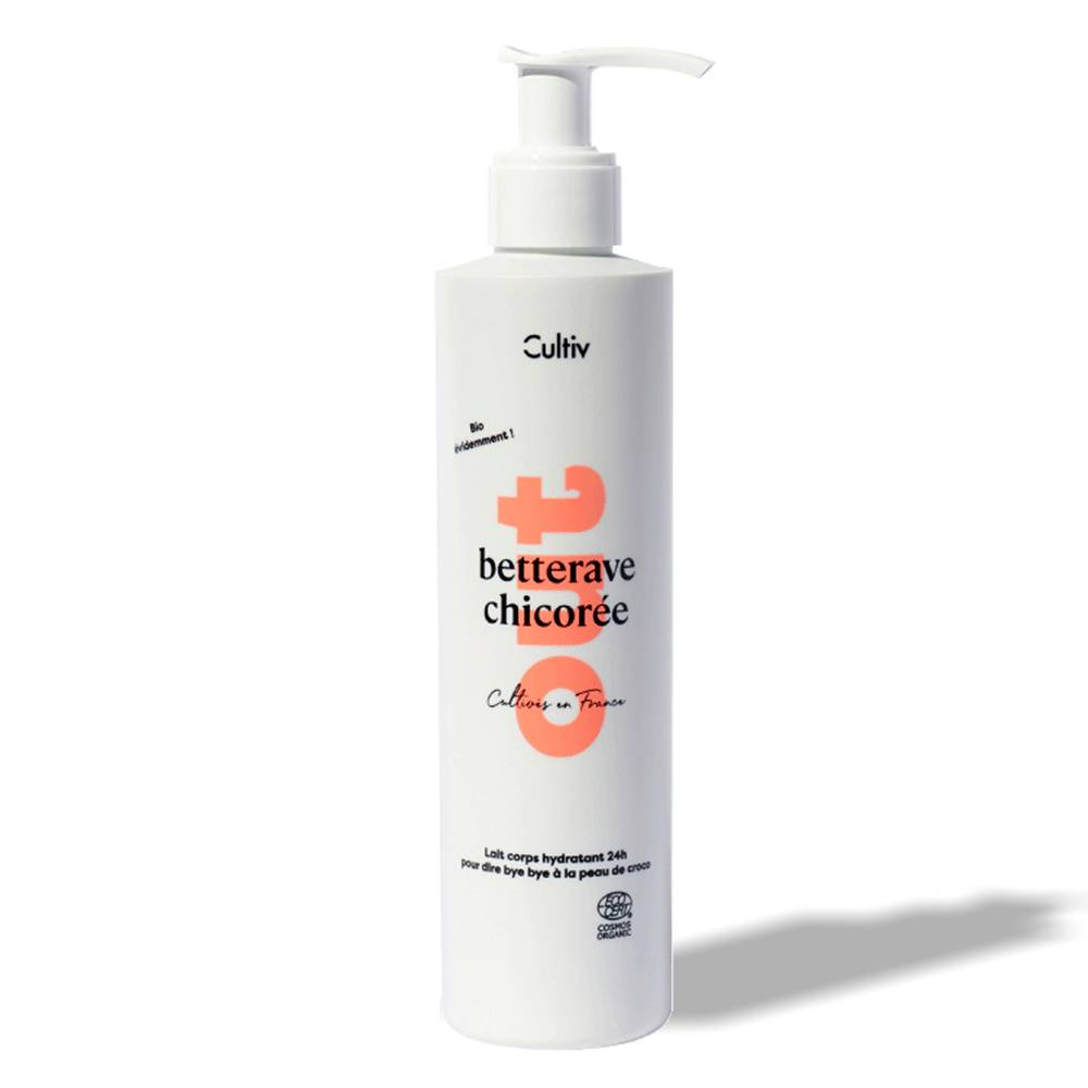 Cultiv Lait corps hydratant 24h Soin corps bio made in France