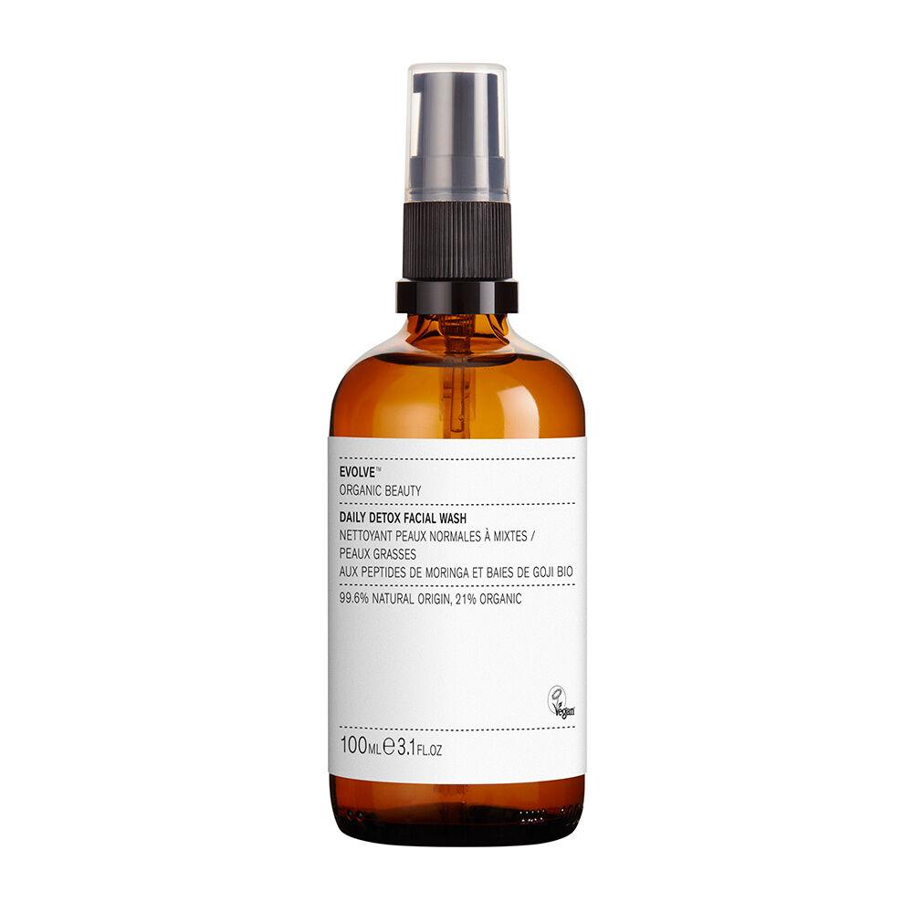 Evolve Organics Beauty DAILY DETOX FACIAL WASH Nettoyant détoxifiant légèrement moussant