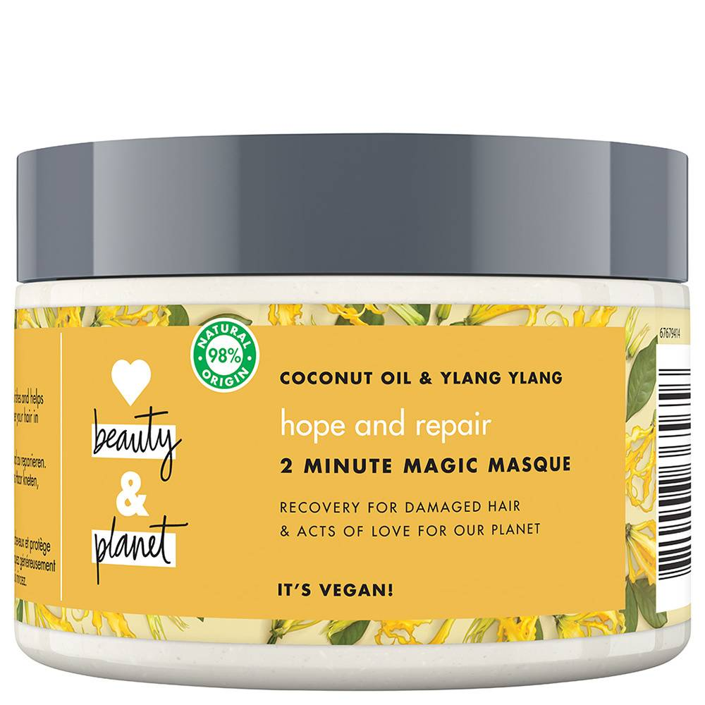 Love Beauty & Planet Love Beauty And Planet Masque Cheveux Oasis Réparatrice Après shampooings & Soins