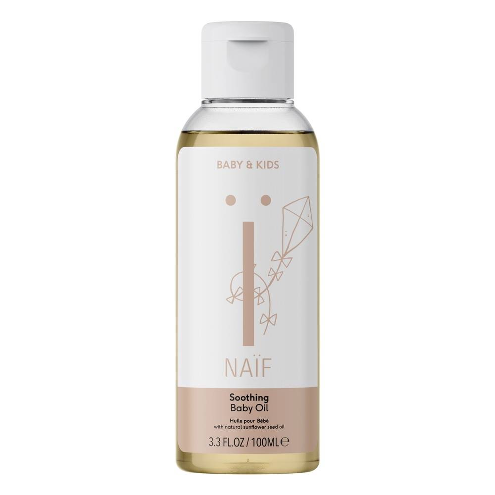 Naïf Natural Skincare Soothing Baby Oil Huile apaisante pour bébé