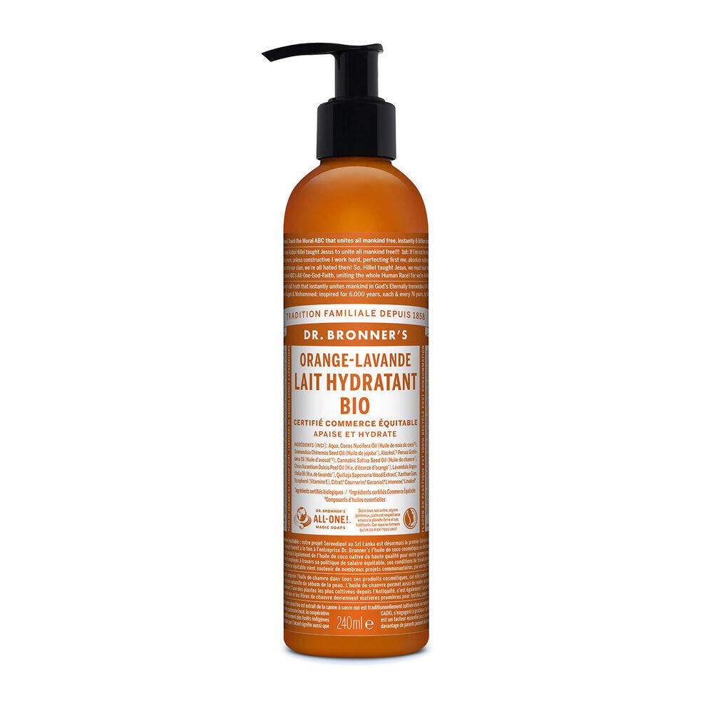 Dr Bronner's - Lait hydratant Orange/Lavande - 240ml Lait hydratant
