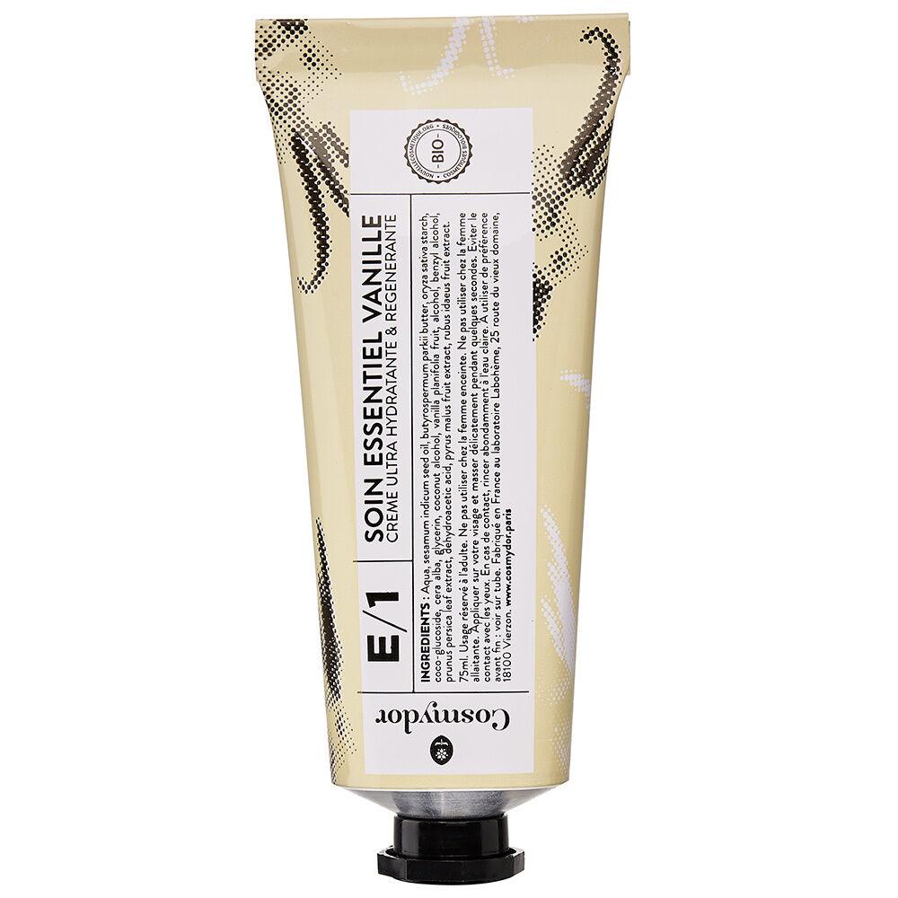 Cosmydor E/1 Soin essentiel vanille - Crème ultra hydratante et régénérante Crème visage et mains bio