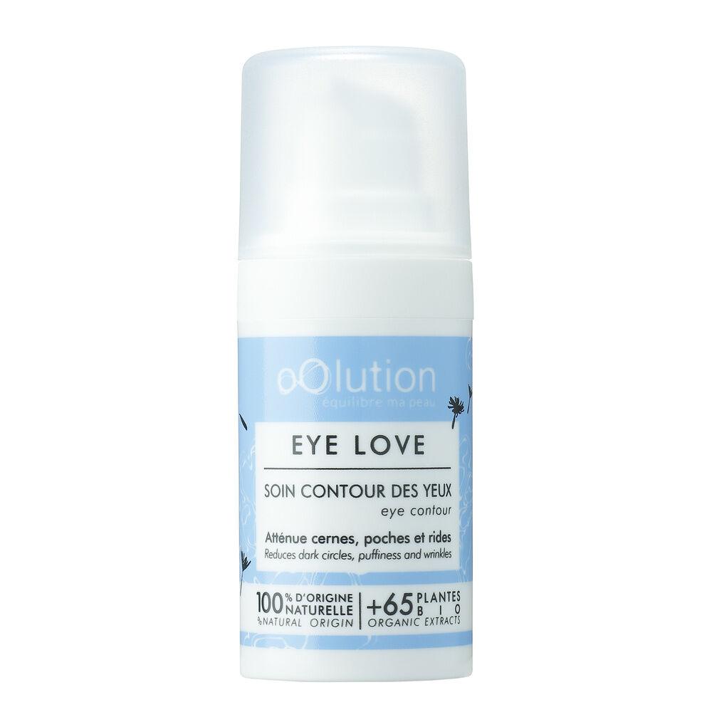 Oolution Sérum&Huilles 100% naturels Soin contour des yeux