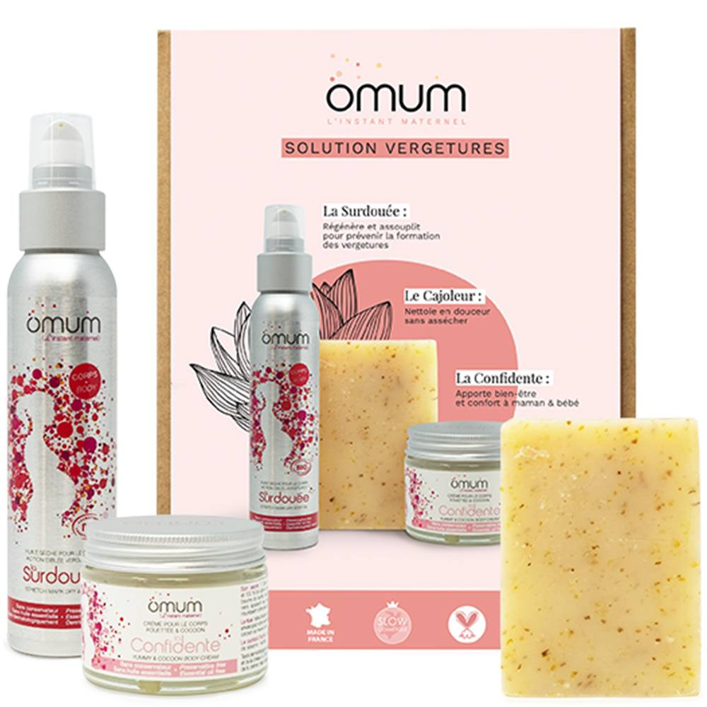 Omum Coffret Set de 3 produits