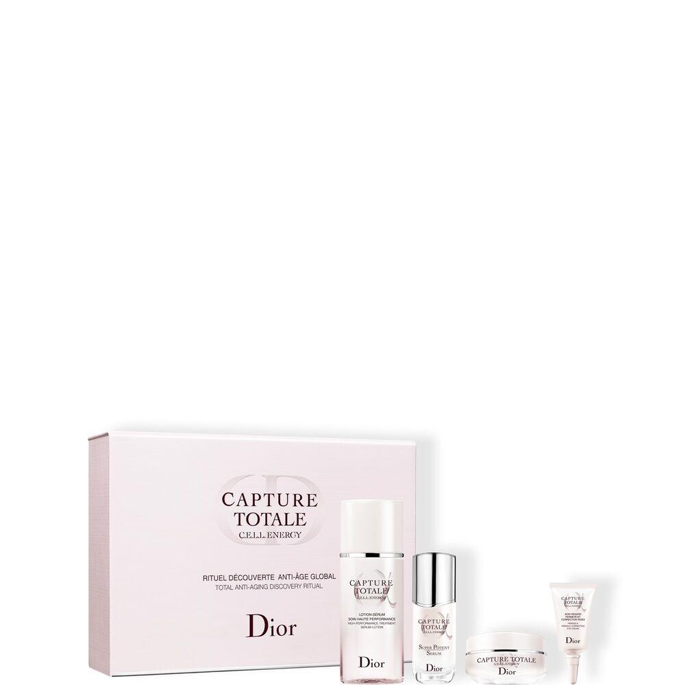 Christian Dior Capture Totale - Le rituel découverte anti-âge global Coffret Soin - Lotion-sérum 50ml + Sérum 10ml + Crème 15ml + Soin regard 5ml