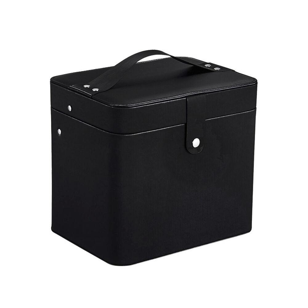 Stella Maris  Élégante boîte de rangement de voyage ennoir pour les articles d'hygiène et decosmétique