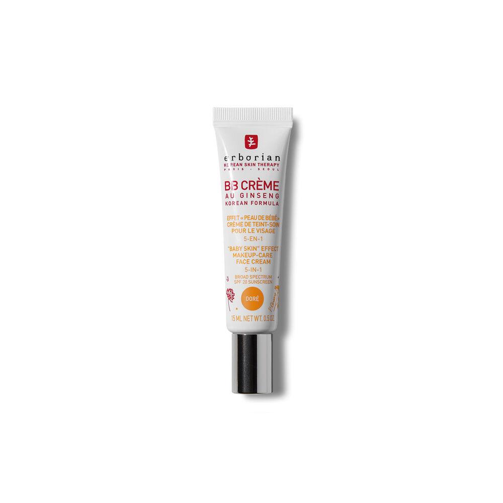 Erborian BB CRÈME AU GINSENG DORÉ Effet peau de bébé  Crème de teint-soin pour le visage 5-en-1