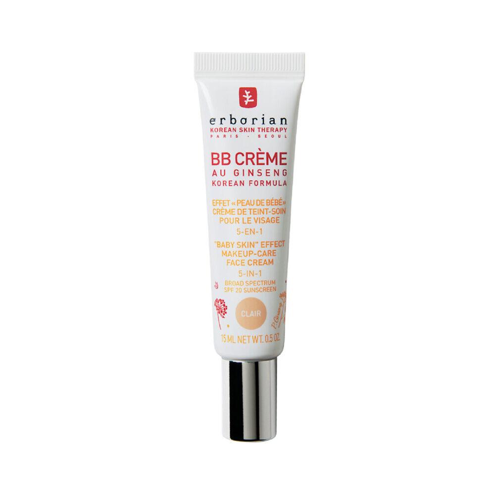 Erborian BB CRÈME AU GINSENG CLAIR Effet peau de bébé  Crème de teint-soin pour le visage 5-en-1