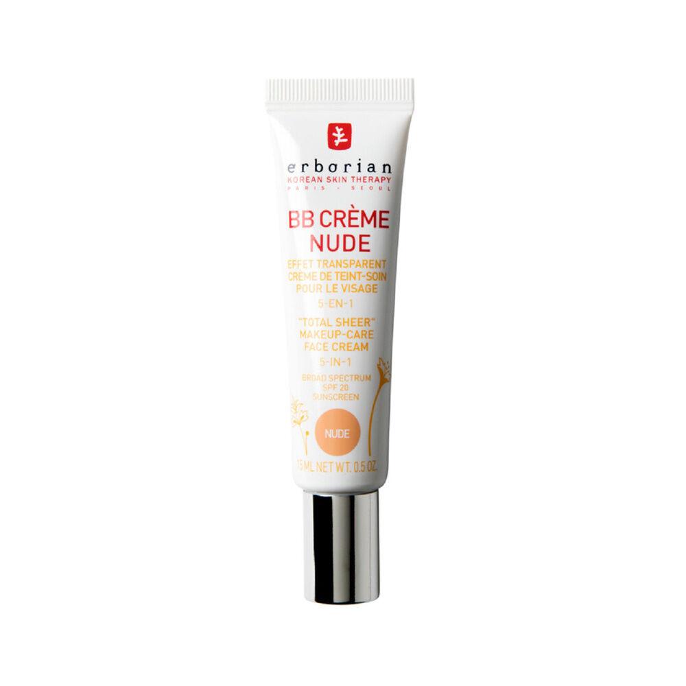 Erborian BB CRÈME AU GINSENG NUDE Effet peau de bébé  Crème de teint-soin pour le visage 5-en-1