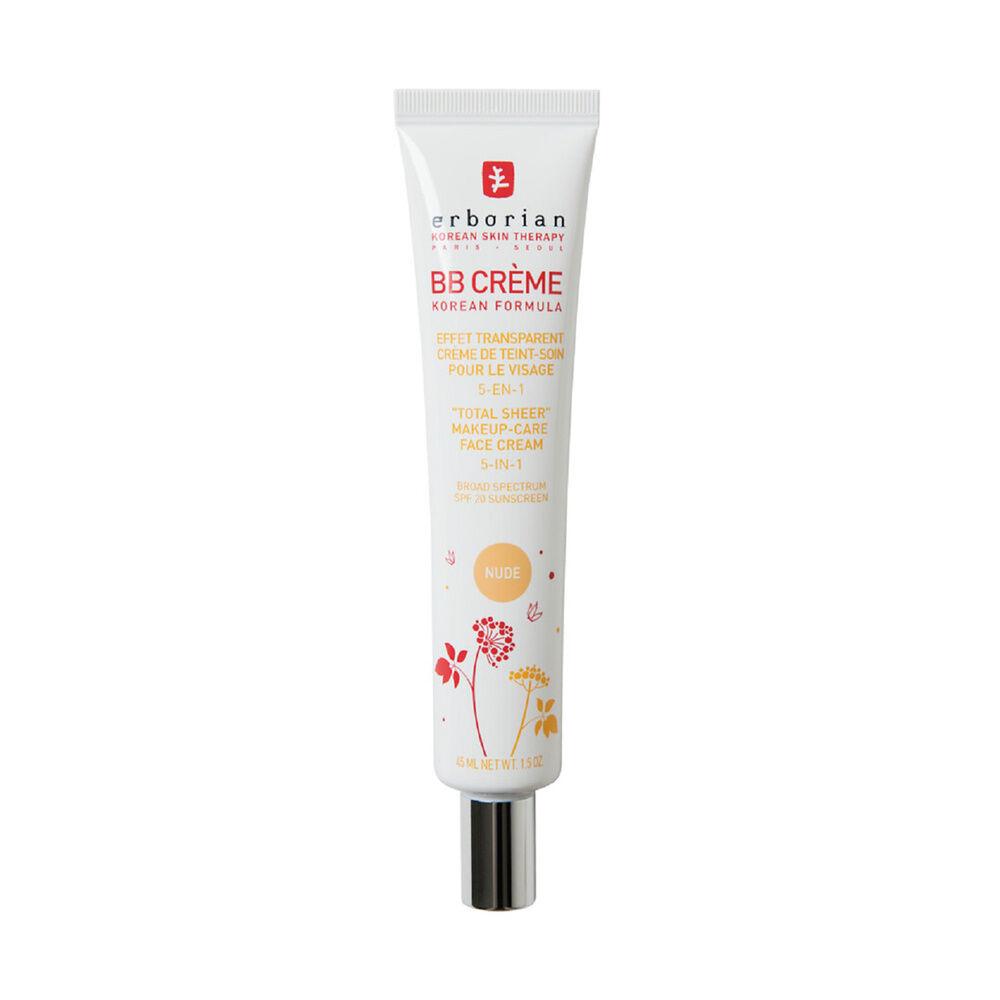 Erborian BB CREME  AU GINSENG NUDE Effet peau de bébé  Crème de teint-soin pour le visage 5-en-1