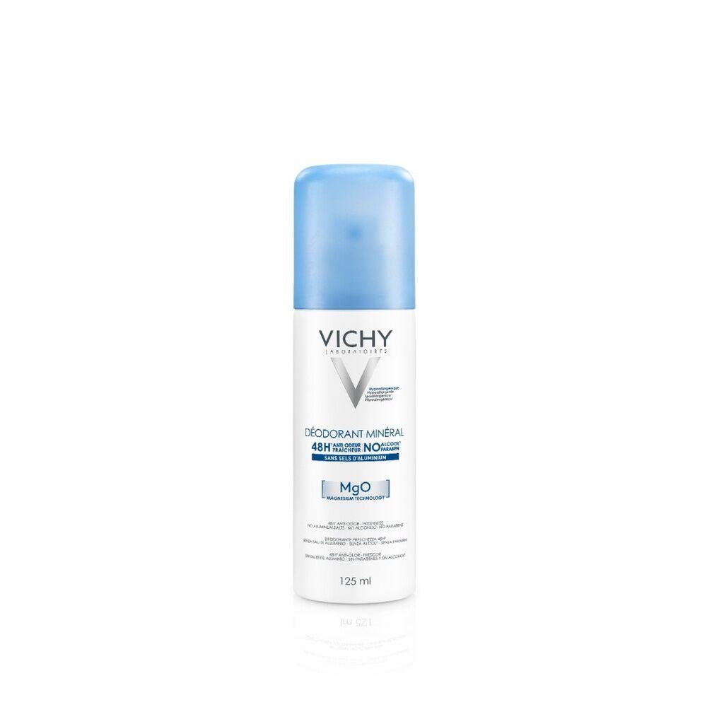 Vichy Déodorant Mineral Aérosol Sans Sel d'Aluminum 48h Déodorant