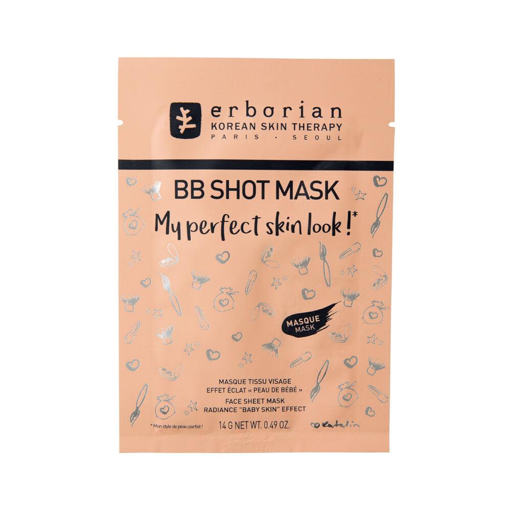 Erborian BB SHOT MASK Masque tissu visage effet peau de bébé
