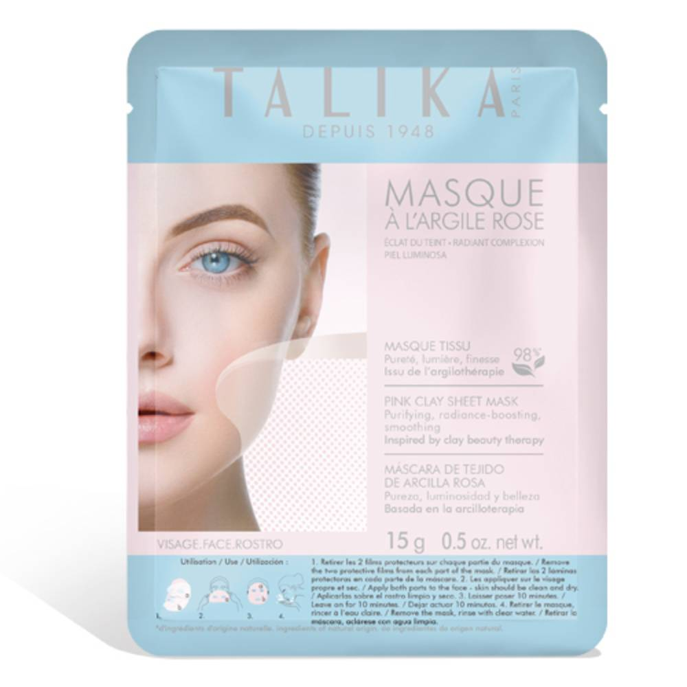 Talika Masque à l'Argile Rose Masque