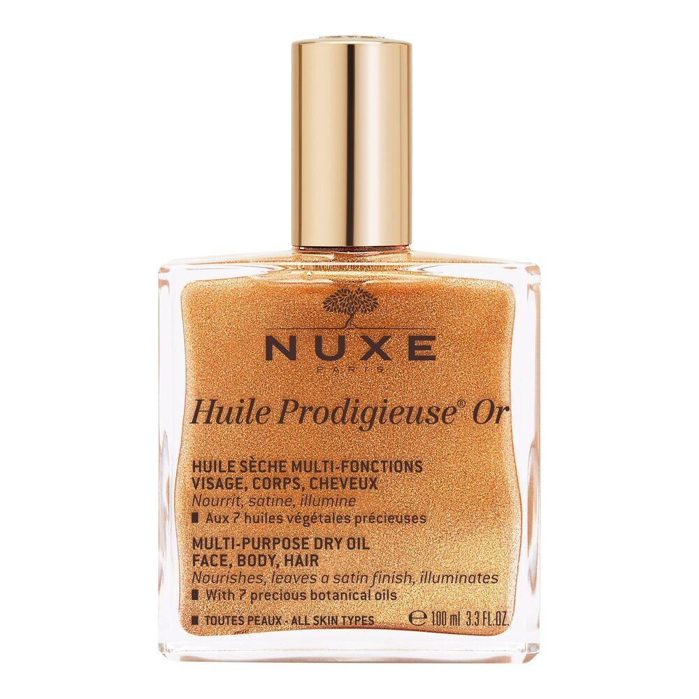 Nuxe Huile prodigieuse® Or Huile sèche multi-fonctions visage, corps, cheveux