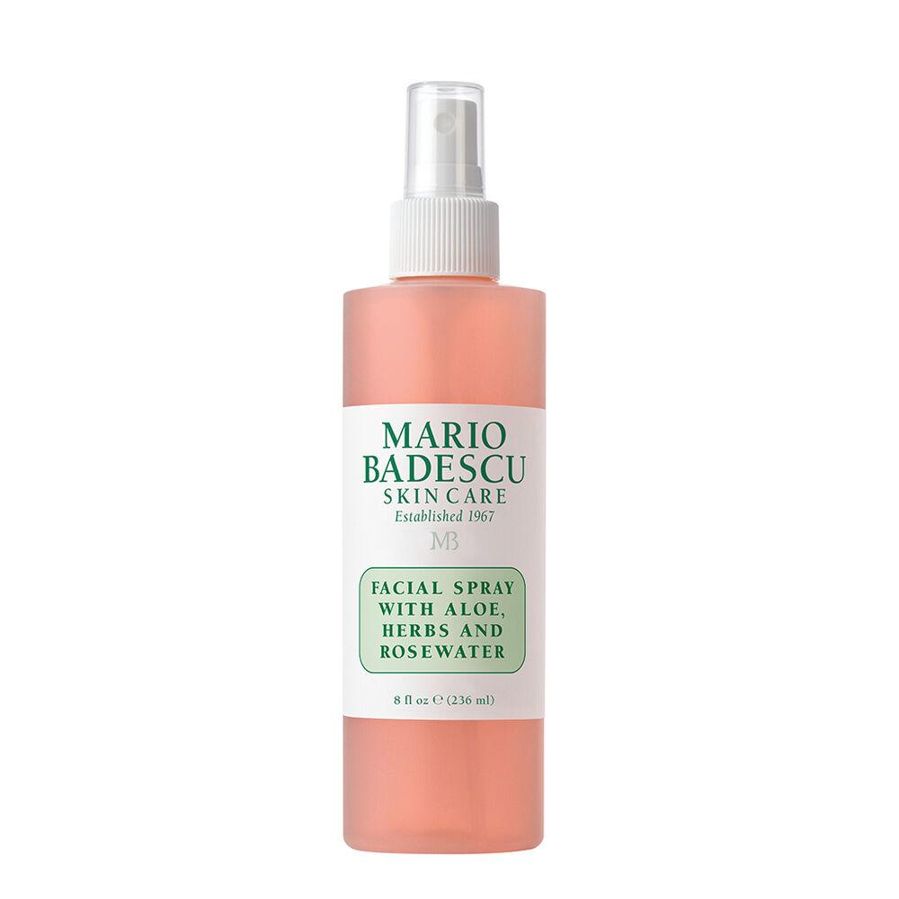 Mario Badescu Spray visage à l'aloe vera, aux planteset à l'eau de rose Spray visage