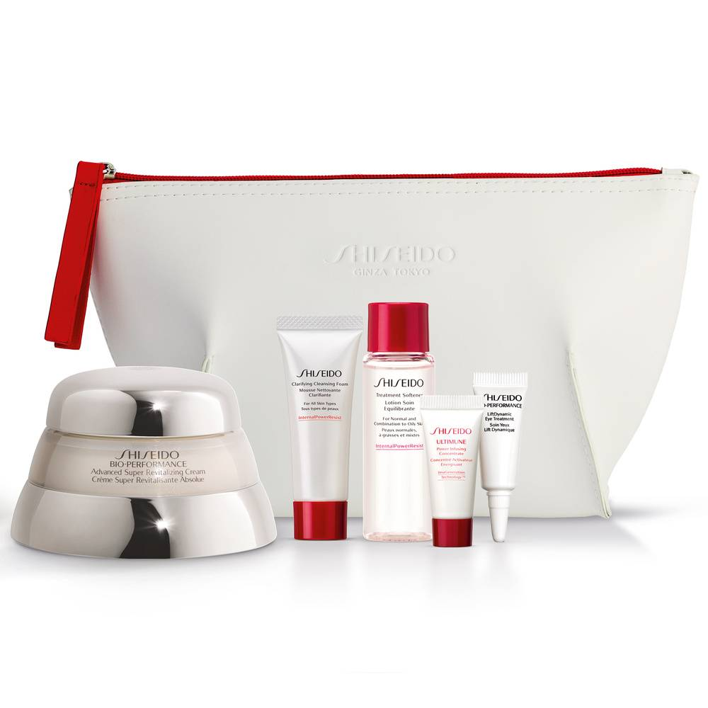 Shiseido BIO PERFORMANCE Coffret Crème Bio Performance Super Revitalisante Absolue