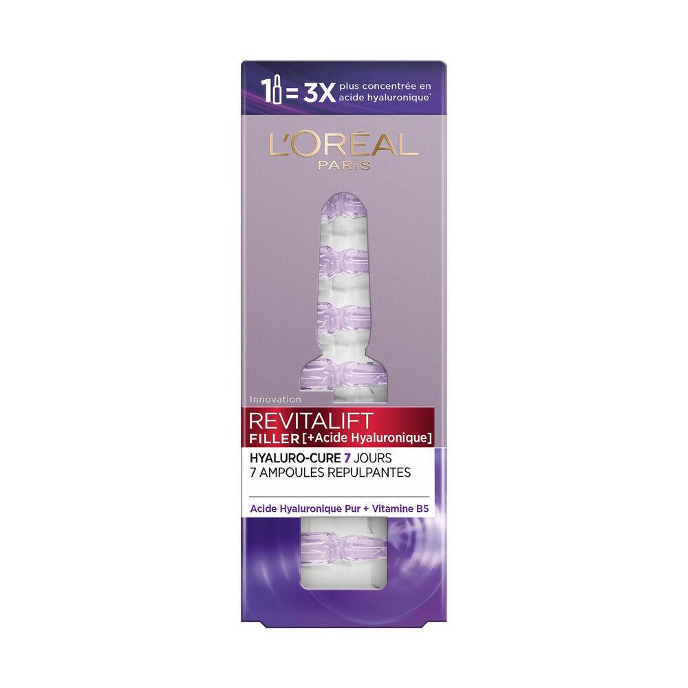 L'Oréal Paris REVITALIFT FILLER ampoules repulpantes Hyaluro-cure