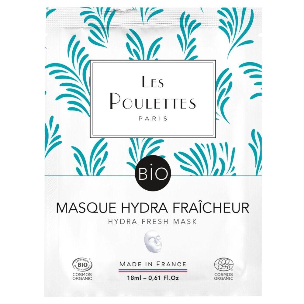 Les Poulettes Masque Hydra Fraîcheur Masque tissu visage Bio