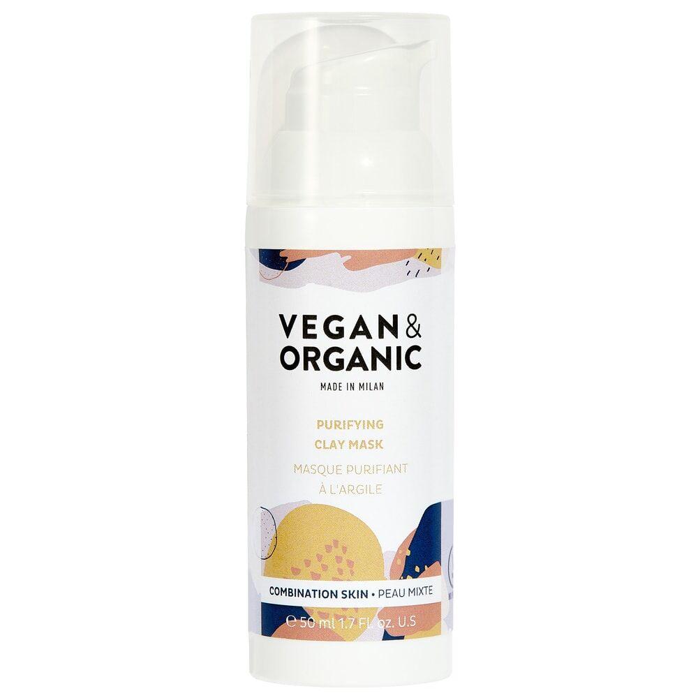 Vegan & Organic MASQUE PURIFIANT  A L'ARGILE MASQUE