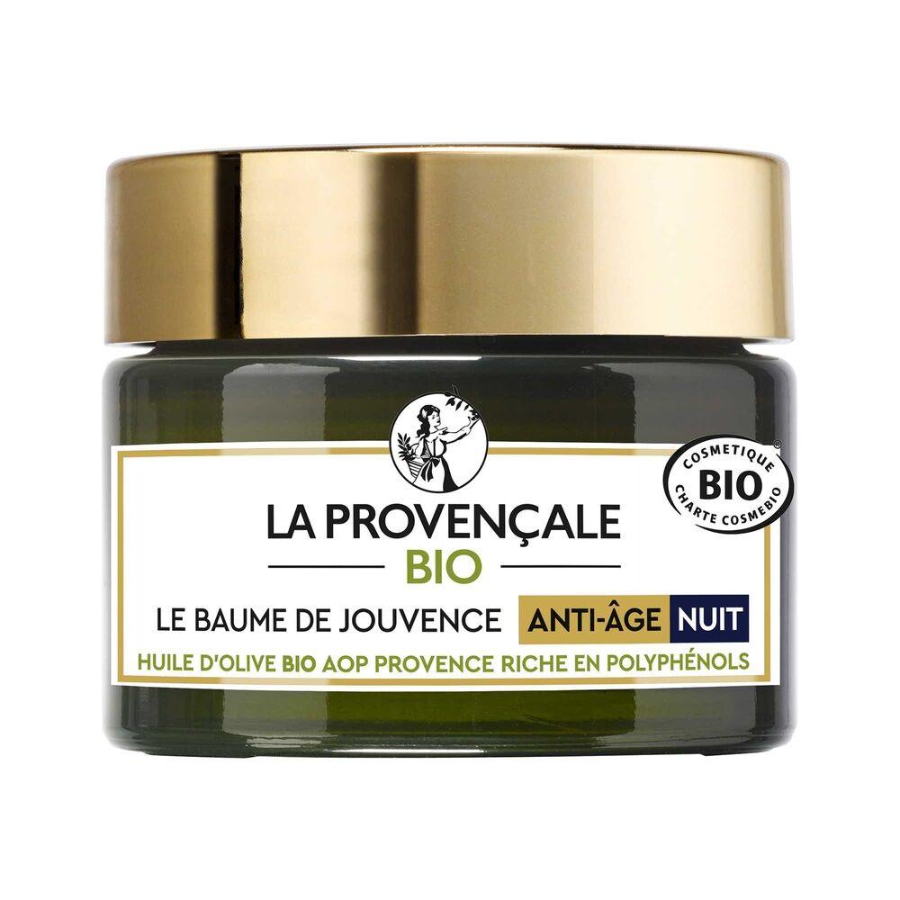 La Provençale Le Baume de Jouvence Anti-Âge Nuit Soin et Baume Anti-Âge Nuit Bio