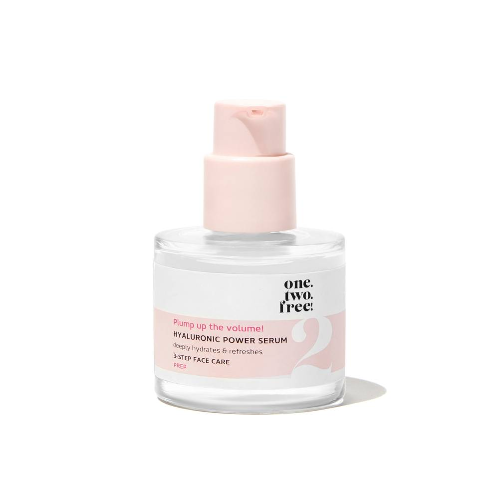 one.two.free! Hyaluronic Power Serum Sérum Acide Hyaluronique