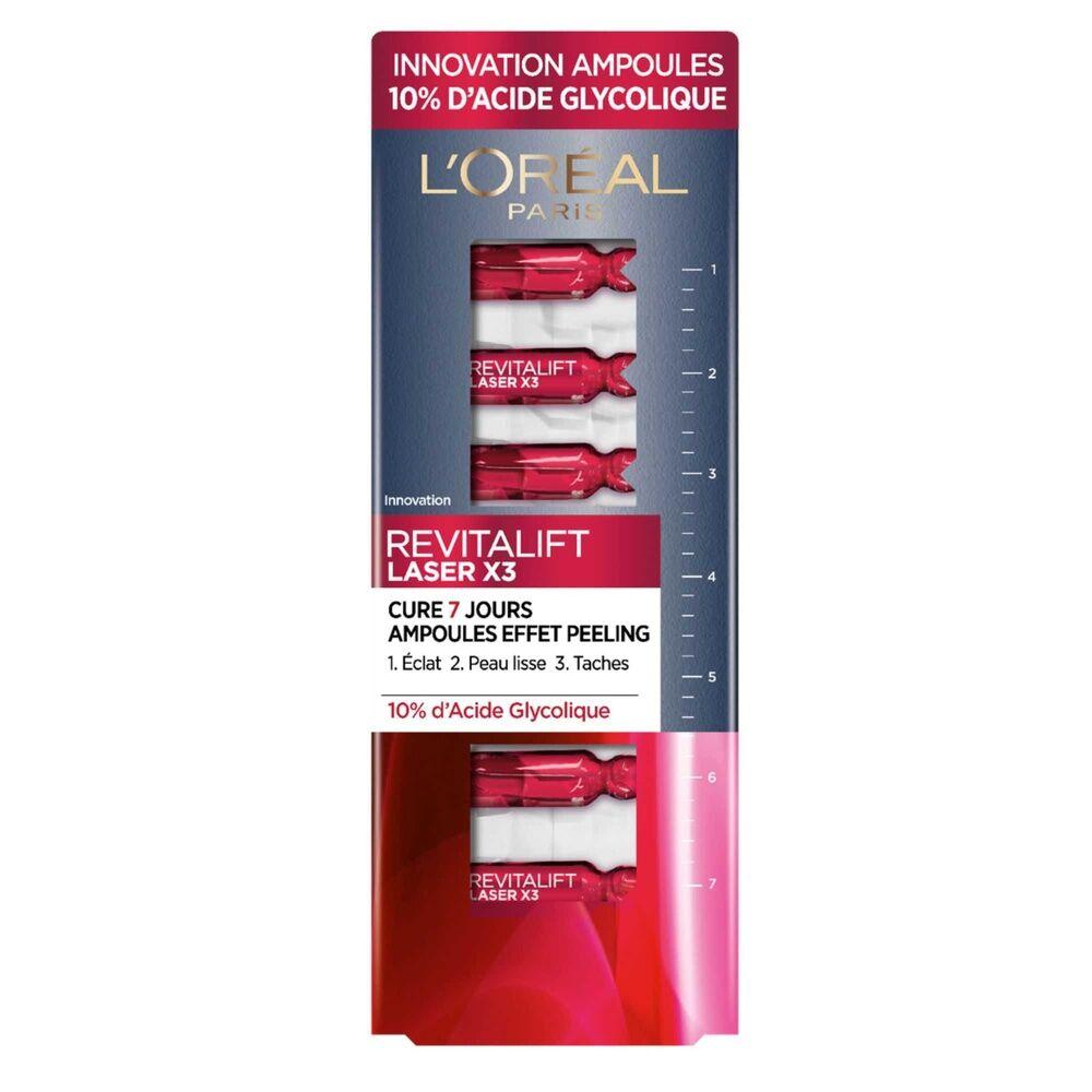 L'Oréal Paris Revitalift Laser Ampoules Effet Peeling Cure 7 Jours 10%Acide Glycolique