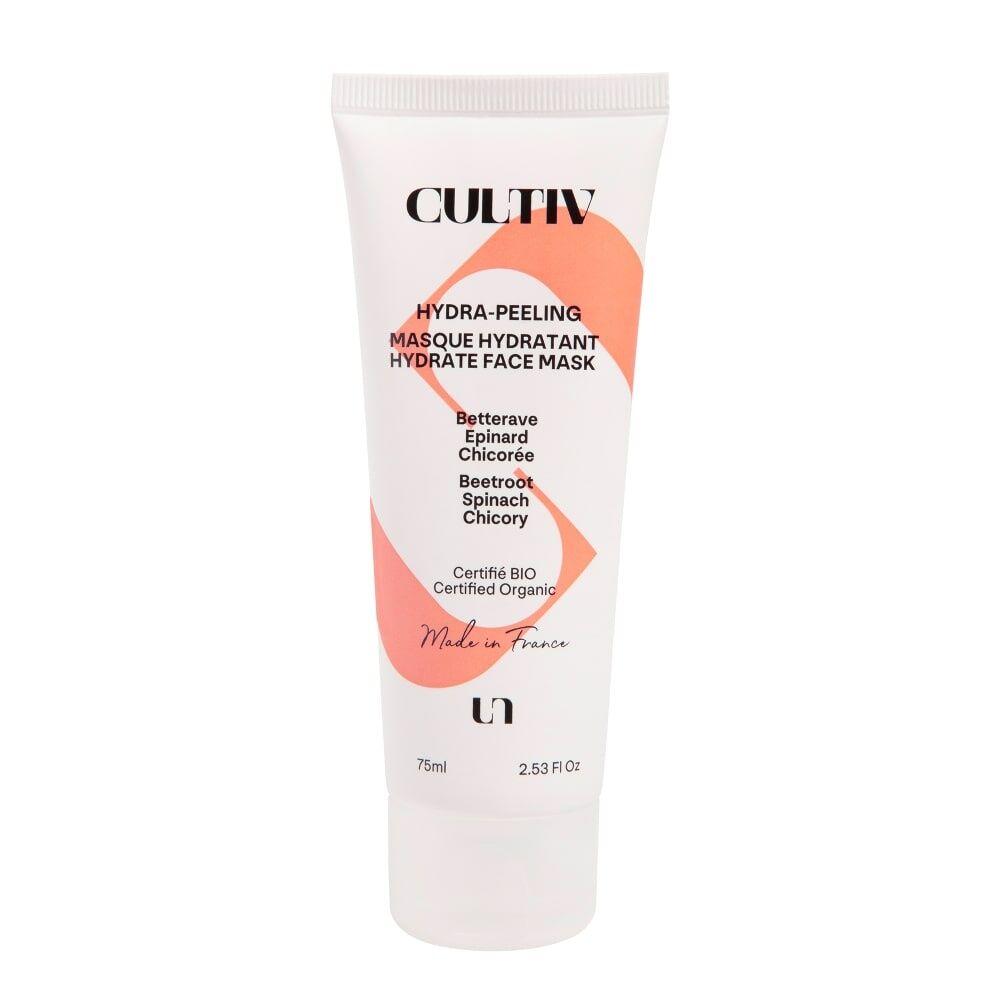 Cultiv Masque 2 en 1 pour révéler ton éclat Masque hydratant et exfoliant  bio madein France