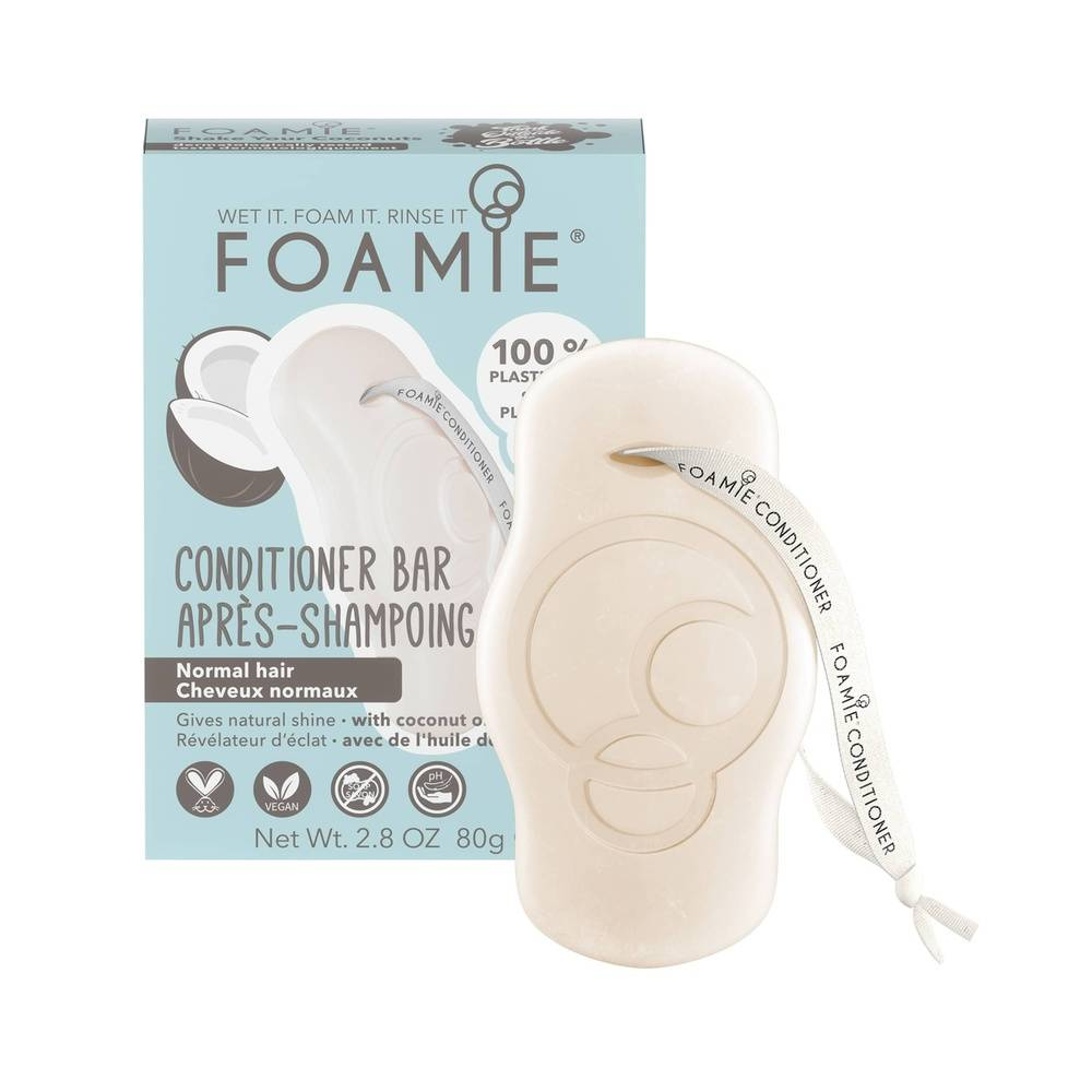 Foamie Après-Shampoing Shake Your Coconuts (Cheveux Normaux) Après Shampoing