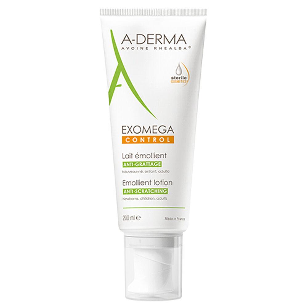 A-Derma Exomega Control Cosmétique stérile  Lait émollient  Tube 200ml Lait émollient