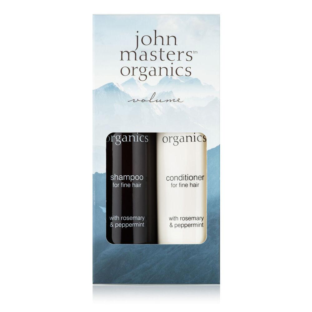 John Masters Organics Collection Volume - Shampoing et après-shampoing pour cheveux fins Coffret de Noël