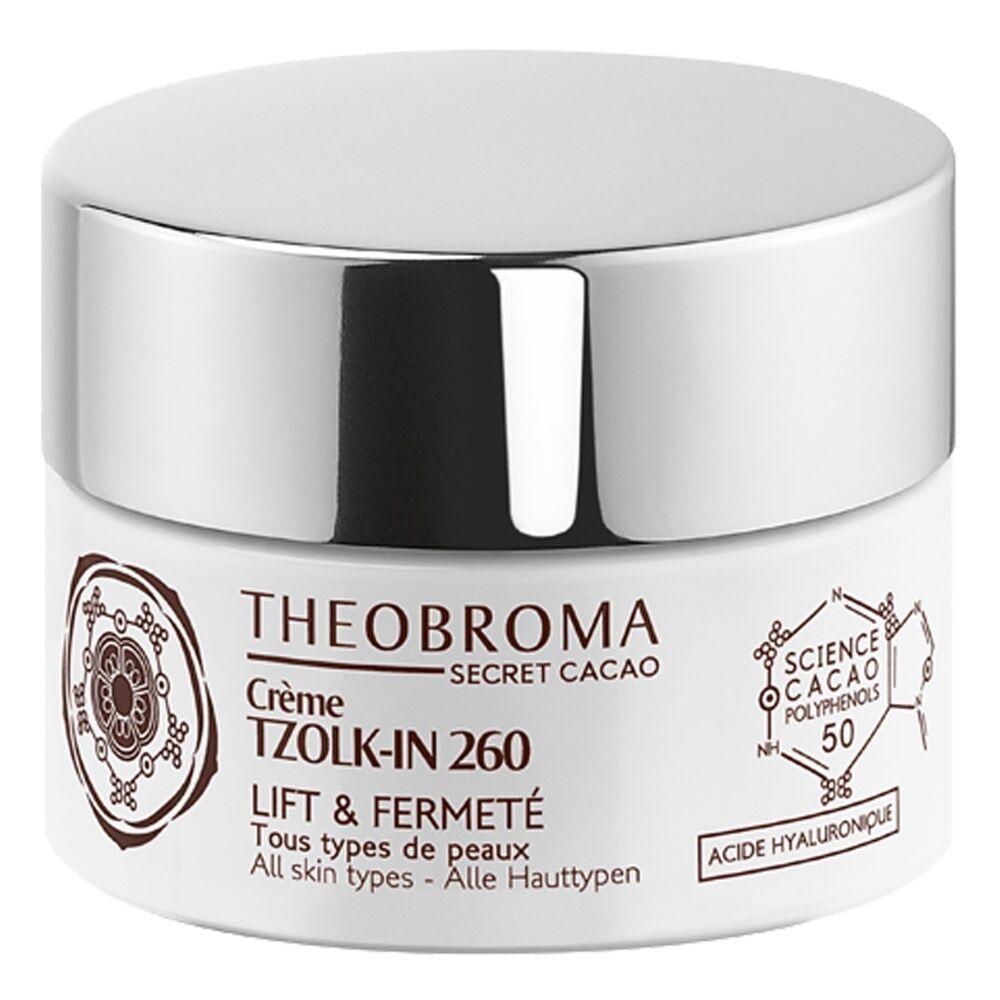 Theobroma Secret Cacao Crème TZOLK-IN 260, la Magie Maya Crème de soin anti-âge lift et fermeté