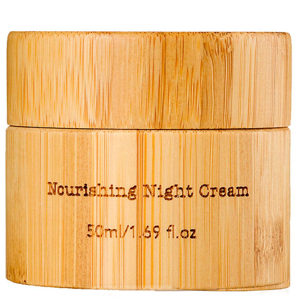The Organic Hemp Line Crème de nuit Nourrissante pour le Visage Soin Naturel et Biologique au Chanvre