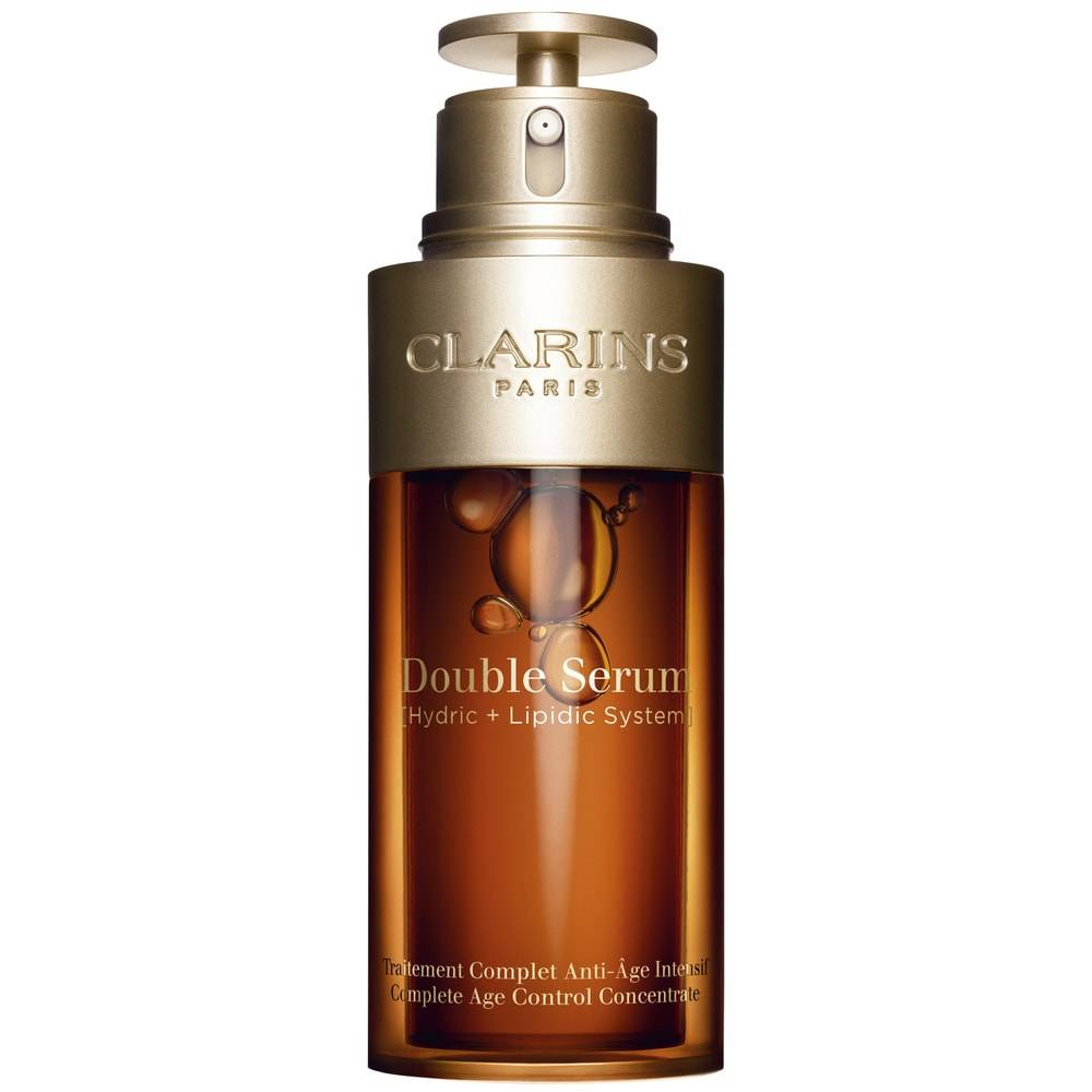 Clarins Double Serum  Traitement Complet Anti-Âge Intensif Soin Anti-Âge Et Anti-Rides